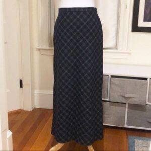 J Crew Full-length Wool Skirt